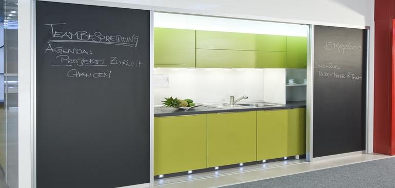 Office Kitchen Sliding Doors Create, Office Kitchen Furniture